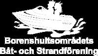 Borenshultsområdets Båt- och Strandförening Logo